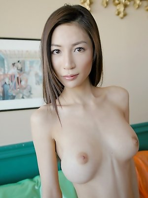 Japanese slut  is cock hungry and waiting for her next encounter with a hard on